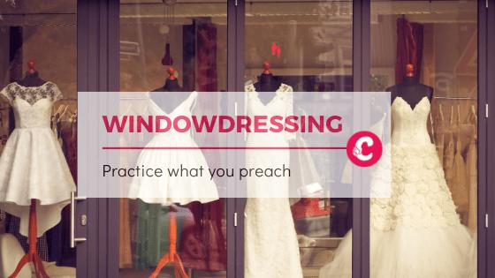 Windowdressing alleen werkt niet